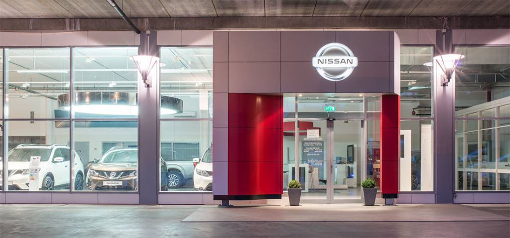 Ørsta Bil anlegg Langemyra 9 inngang Nissan