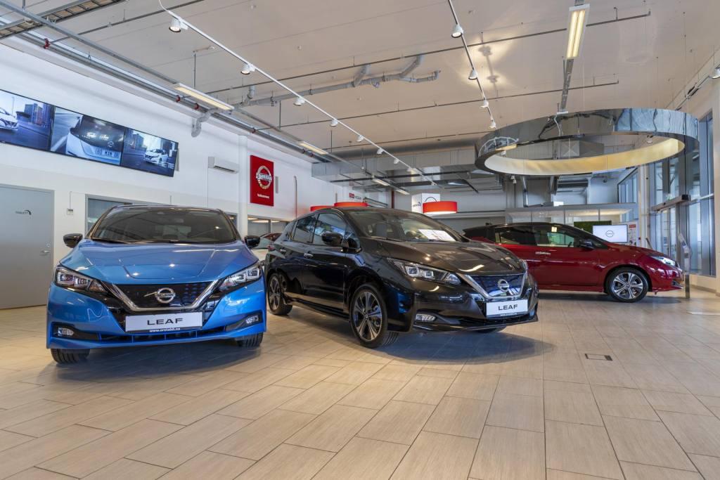 Ørsta Bil utstilling Nissan 2021 - 01